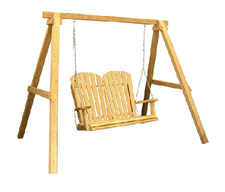 Mendon Woodcraft A Frame Swing