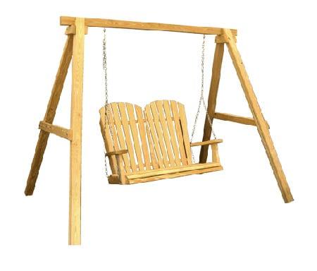 Mendon Woodcraft A Frame Swing