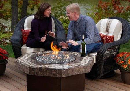 Oriflame Octagonal Fire Pit Mckays Furniture