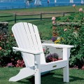 Seaside Casual Shell Adirondack Chairs