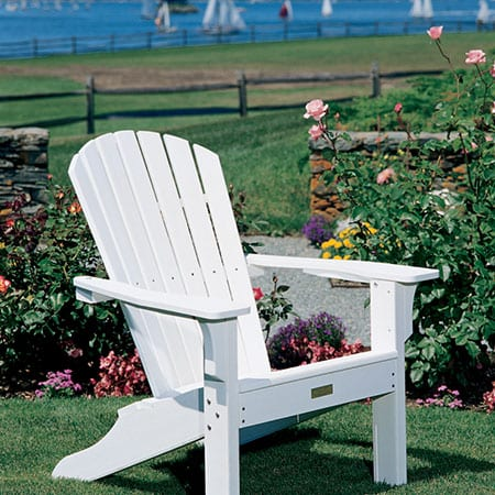 Seaside Casual Shell Adirondack Chairs Mckays Furniture