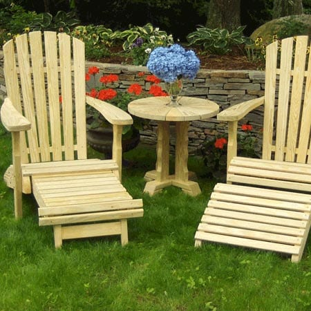 Mendon Woodcraft Adirondack Chairs
