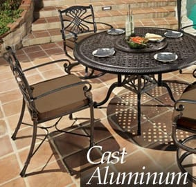 aluminum patio furniture ri