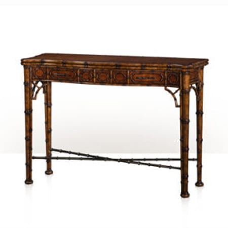 Theo And Alexander Edwardian Bamboo Console