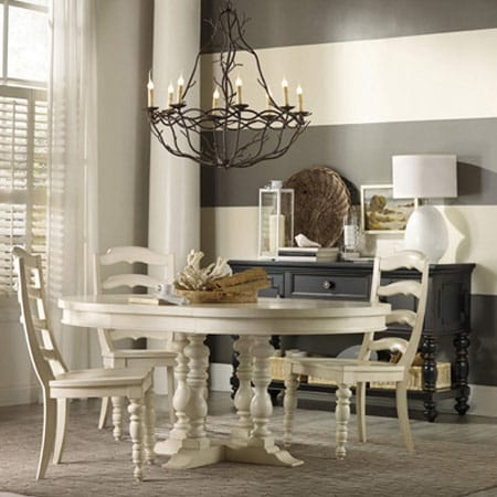 Hooker Pedestal Dining Table