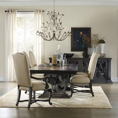 Hooker Rectangle Dining Table