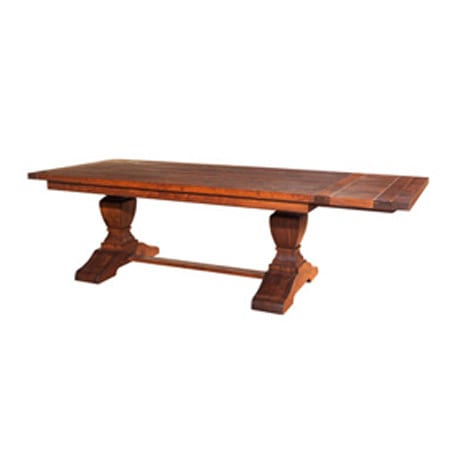Mackenzie Dow Sheffield Drawleaf Trestle Table