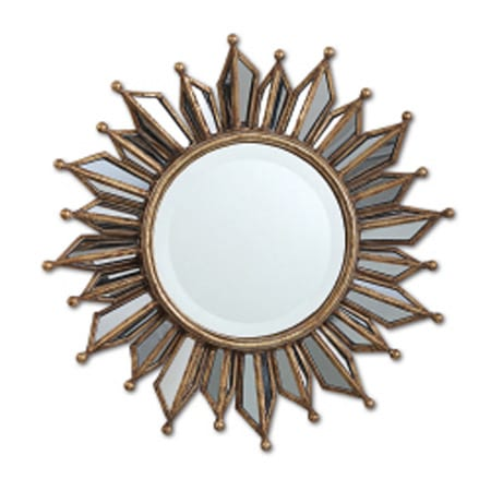 Two's Company LeSoleil Wall Mirror