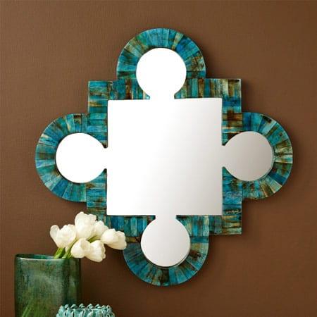 Tozai Verdigras Wall Mirror