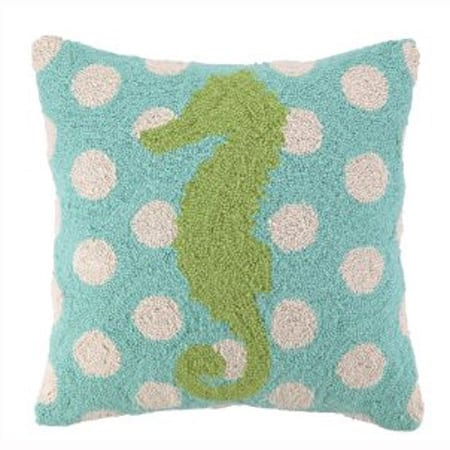 Peking Sea Horse Hooked Pillow