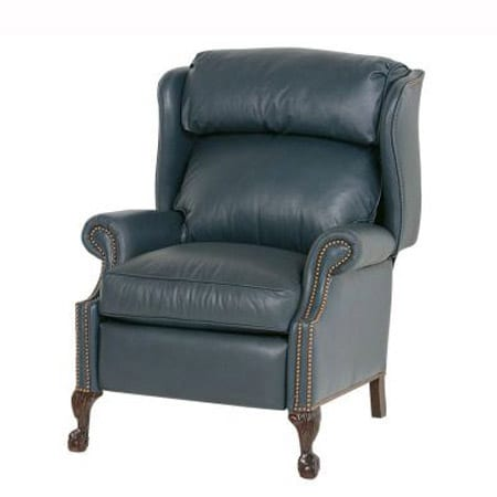 Classic Ball-In-Claw High-Leg Recliner