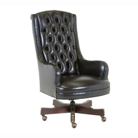 Classic Leather Justice Swivel-Tilt Chair
