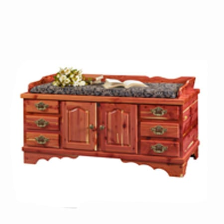 Cedar Ridge Seat Rail Chest
