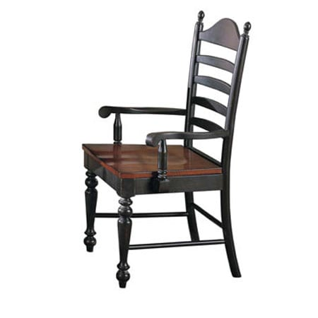 Winner's Circle Ladder-back Arm Chair