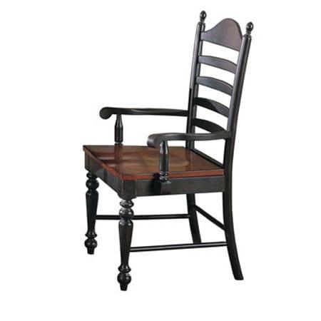 Winner's Circle Ladder-back Arm Chair