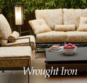 iron patio furniture ri