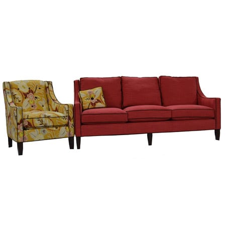 Wesley hall sofa and chair set mckays furniture for Hall furniture design sofa set
