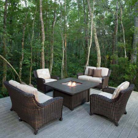 Ebel Dreux With Firepit Mckays Furniture