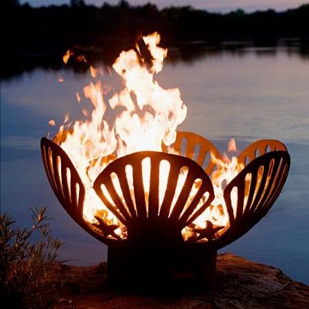 Fire Pit Art Barefoot Beach
