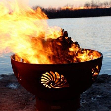 Fire Pit Art Beachcomber