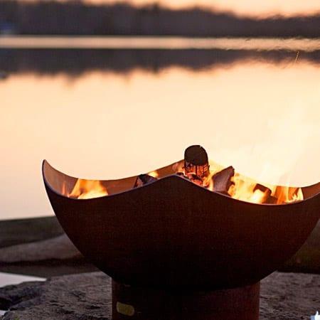 Fire Pit Art Manta