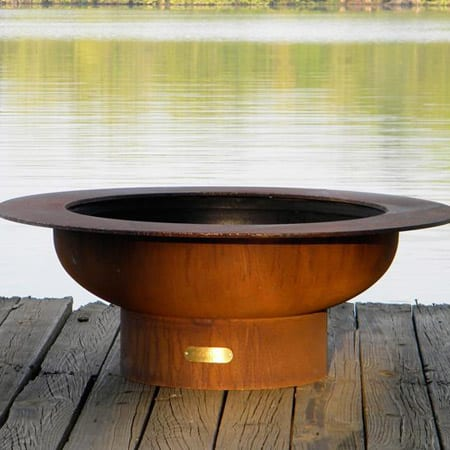 Fire Pit Art Saturn