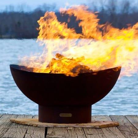 Fire Pit Art Scallop