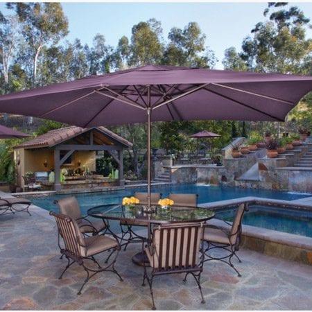 Treasure Garden Rectangle Umbrella