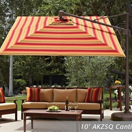 Merveilleux Treasure Garden 11.5u2032 Cantilever Umbrella