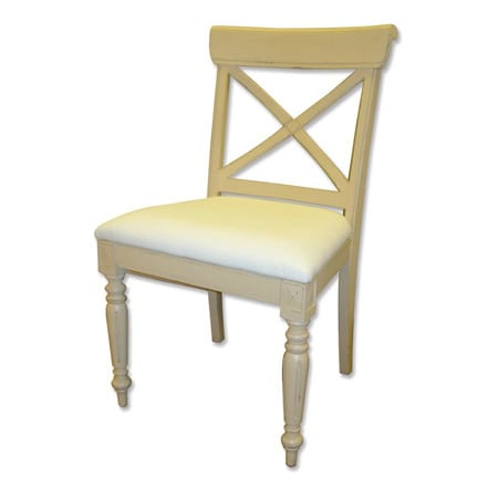 Cross Back Side Chair from Trade Winds
