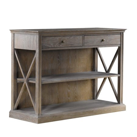 Curations Limited Home Entertainment French Casement Small Console