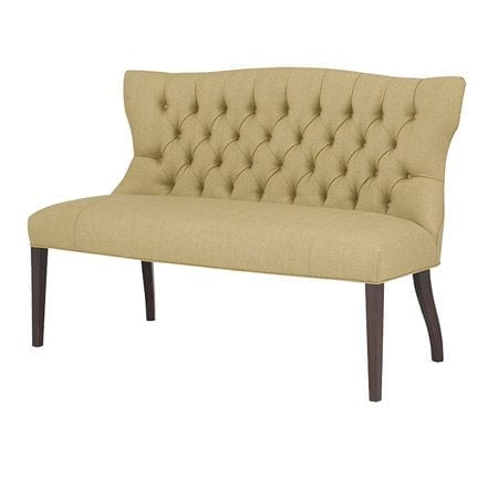 Elsa Dining Settee by Wesley Hall