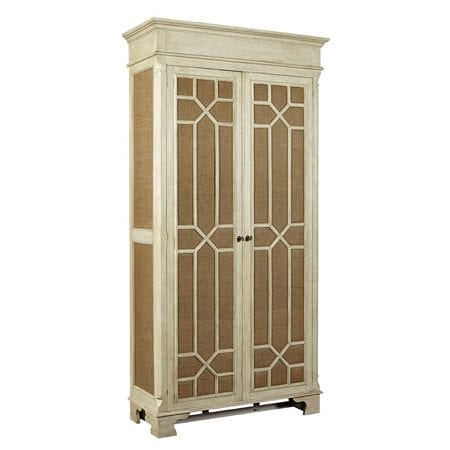 Furniture Classics Burlap Armoire