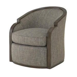 Gracious Swivel Chair by Wesley Hall