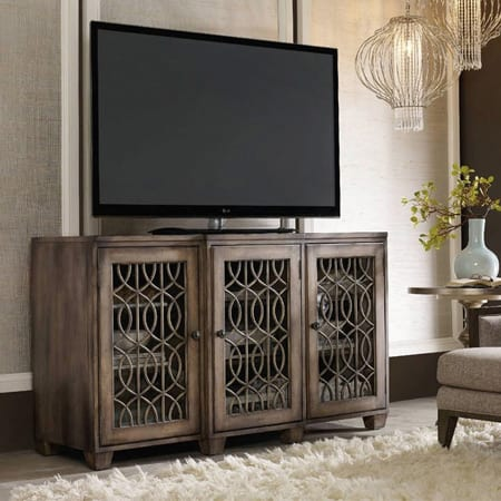 Hooker Furniture Home Entertainment 64 inch Entertainment Console