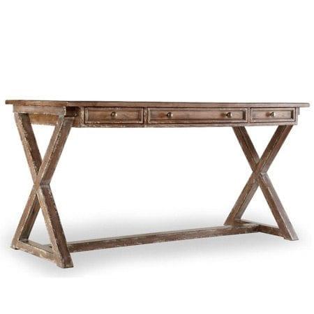 Hooker Furniture Melange Bennett X-Base Writing Desk