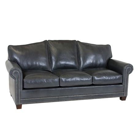 Classic Leather Larsen Leather Arched Back Sofa