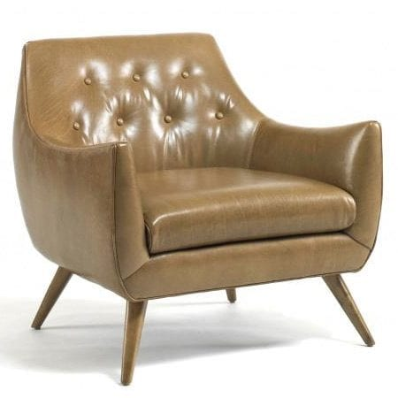 Marley Leather Chair by Precedent