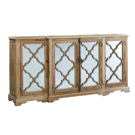 Quatrefoil Buffet by Furniture Classics