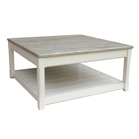 Trade Winds Cottage Square Coffee Table