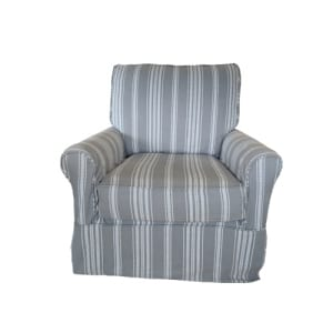 Four Seasons Swivel Glider With Remington Platinum Fabric